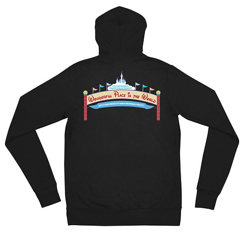 design create build zip hoodie