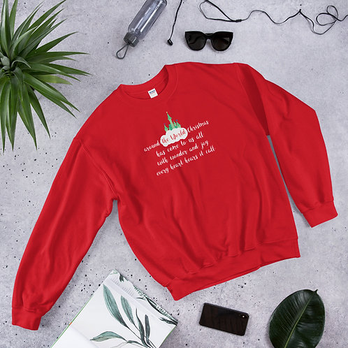 around the world christmas sweater