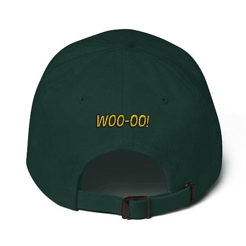 duckburg hurricanes hat (green, light pink)