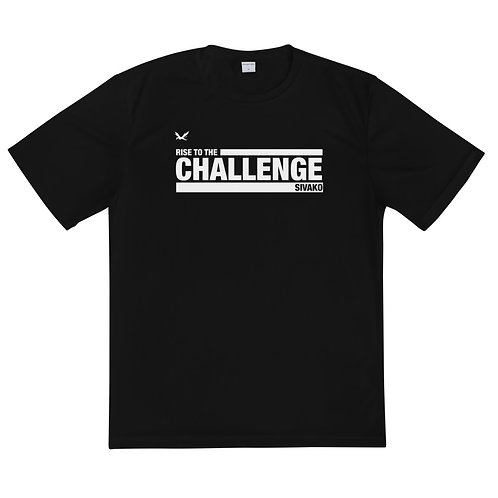 rise to THE CHALLENGE athletic tee