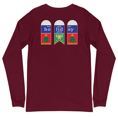 great moments in holiday history long sleeve tee