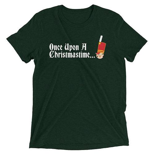 once upon a christmastime tee