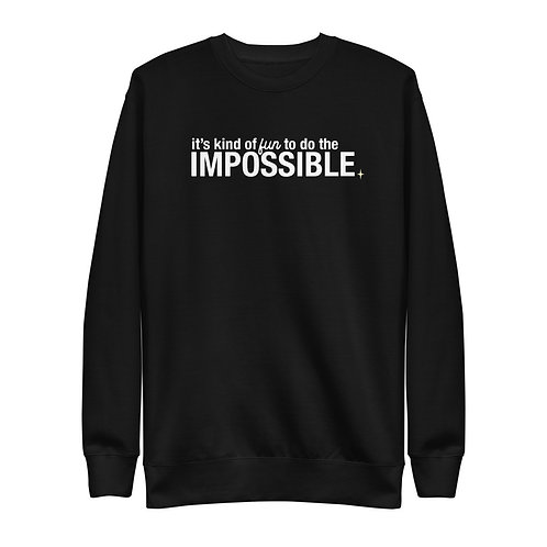 do the impossible sweater