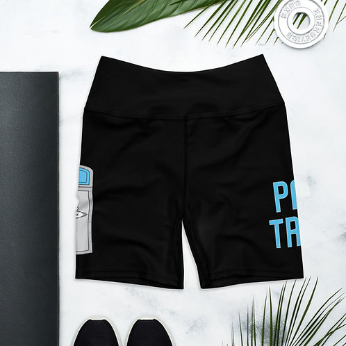 park trash yoga shorts