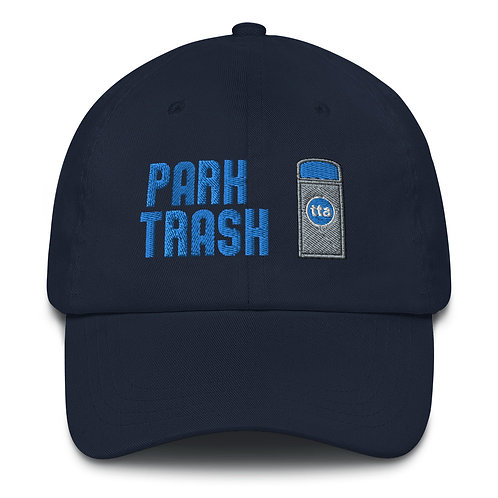 park trash hat