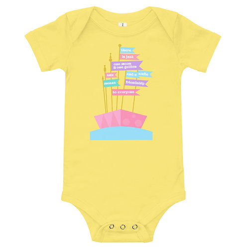friendship to everyone baby bodysuit