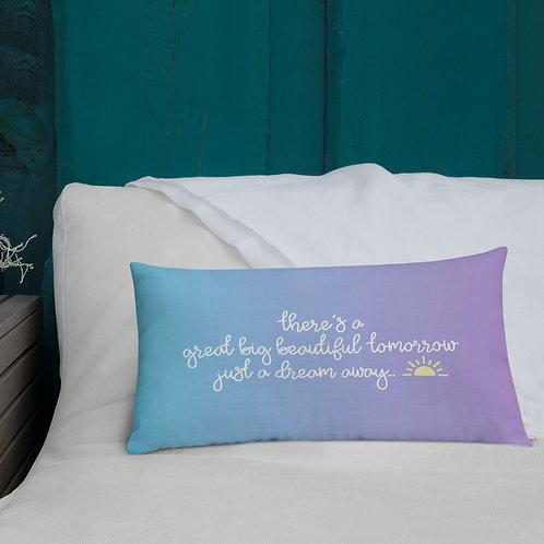 just a dream away pillow