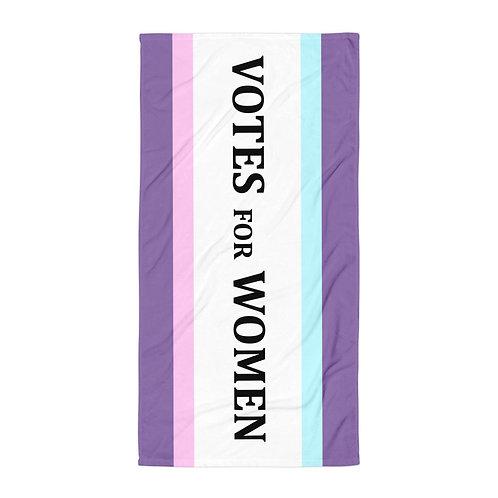 votes for women towel