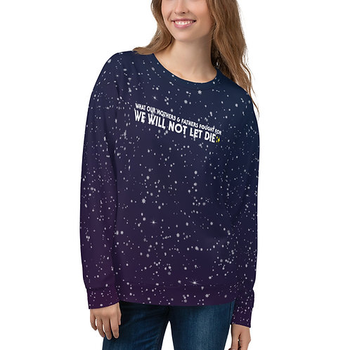 rise sweater {LE cold galaxy}