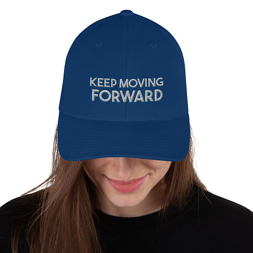 keep moving forward hat