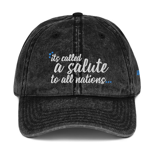 salute to all nations hat
