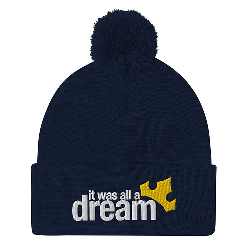 it was all a dream winter hat