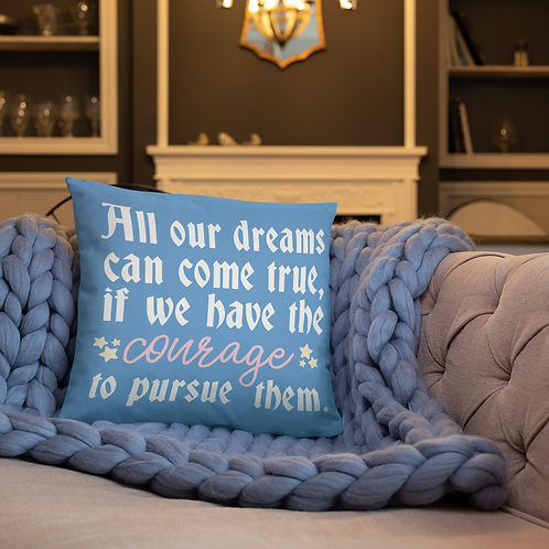 all of our dreams pillow