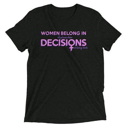 women belong remix tee