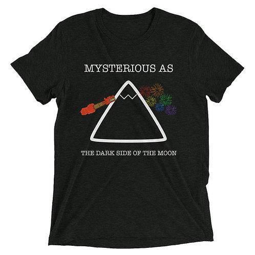 mysterious as the dark side of the moon tee