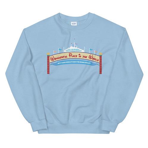 design create build wdw sweater
