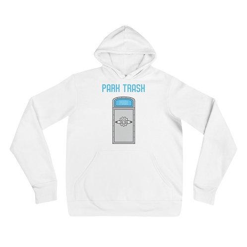 push trash hoodie