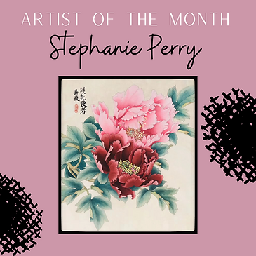 Artist of the Month - Stephanie Perry.pn