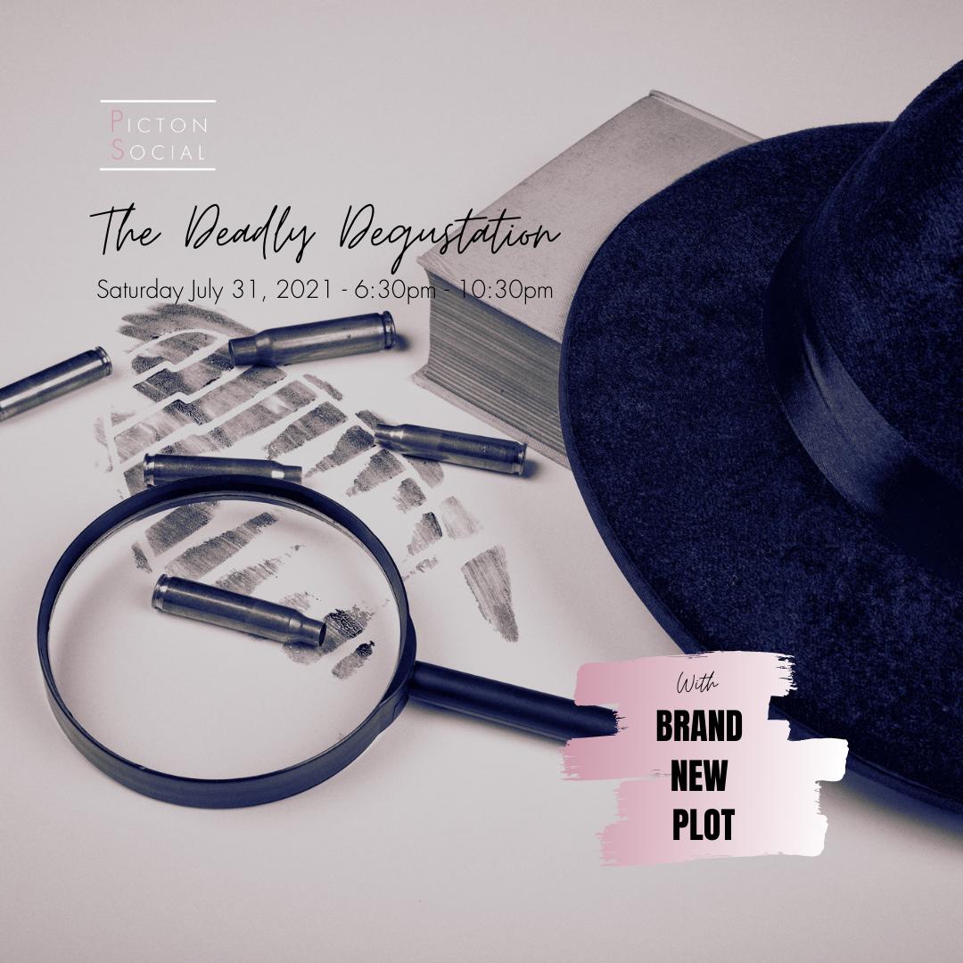 The Deadly Degustation: Menu for Murder