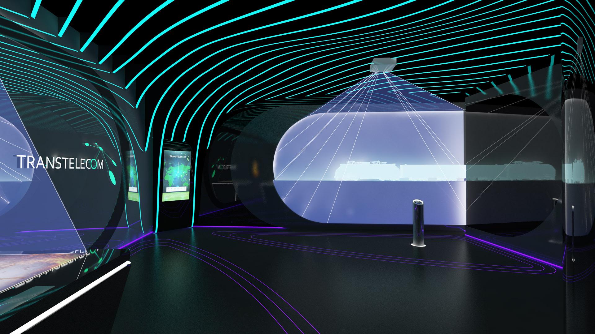 Выставочный стенд Транстелеком