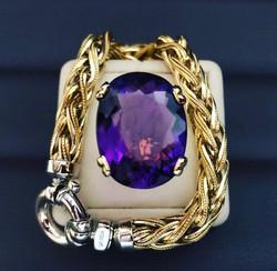 SFJ Amethyst Ring Design