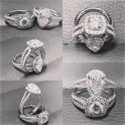 SFJ Diamond Engagement Rings