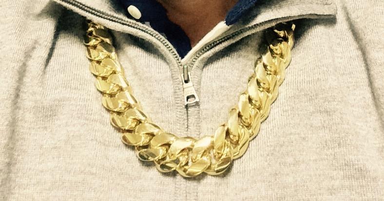 14kt 500 Gr. Cuban Link Chain