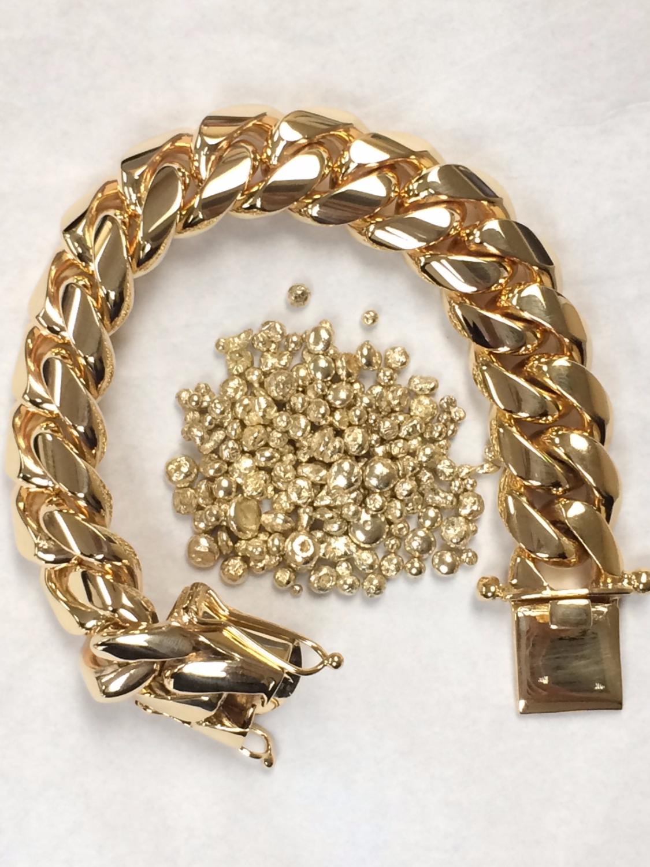 SFJ Cuban Link Bracelet