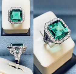 SFJ Dimond and Emerald Design
