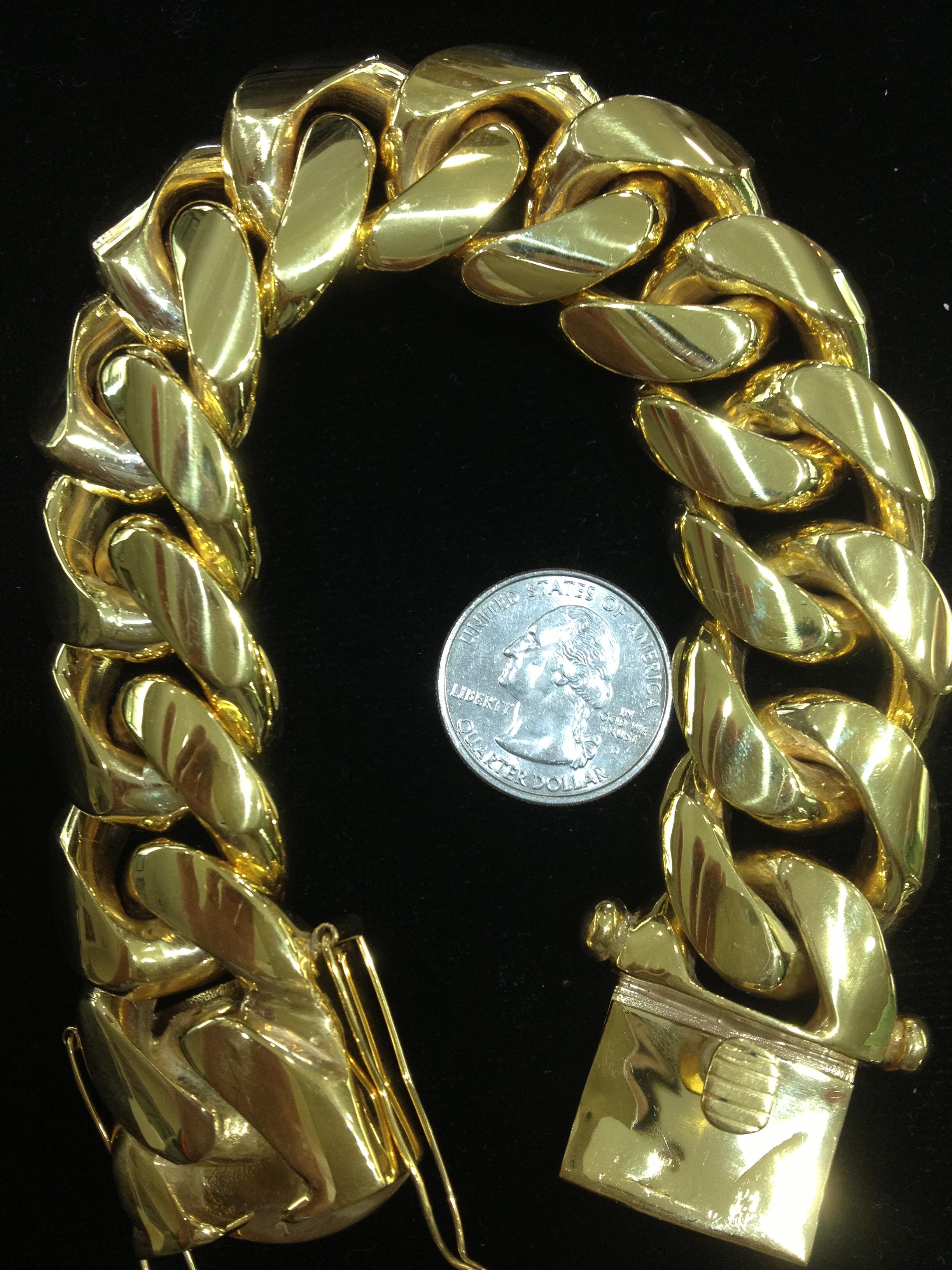 SFJ 500 Gr. Cuban Link Bracelet