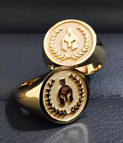 SFJ Signet Men's Ring Design