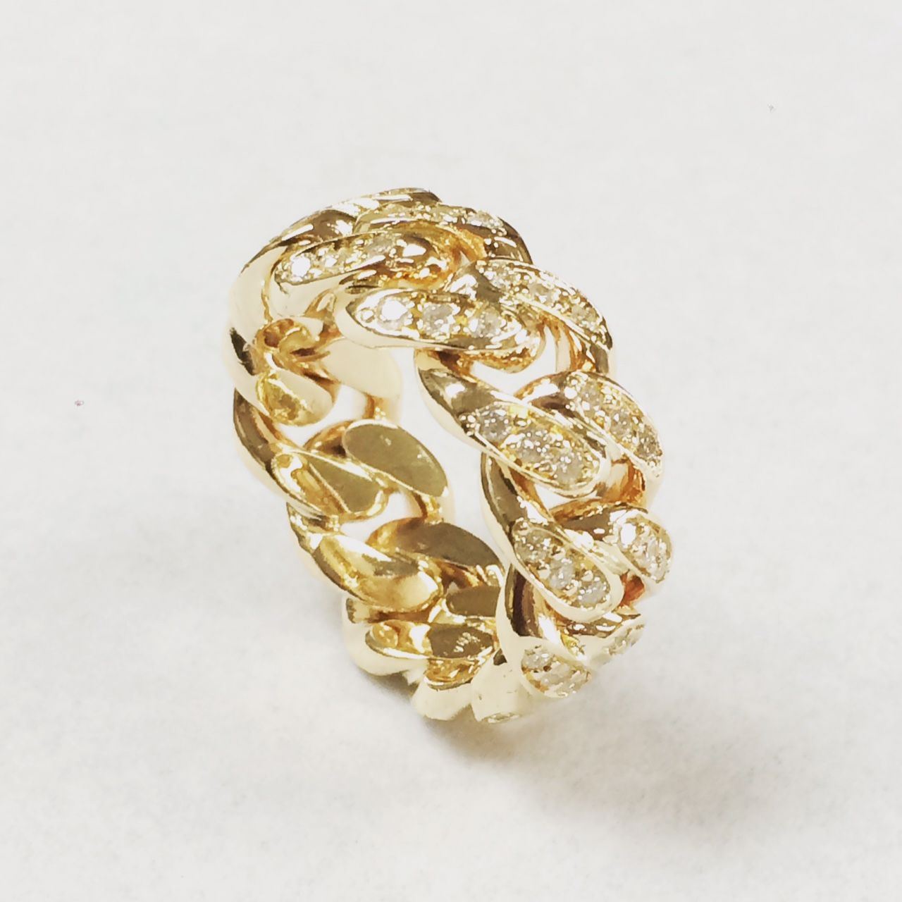 SFJ Cuban Link Ring