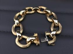 18 kt. Italian Bracelet