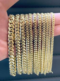 SFJ Cuban Link Bracelets