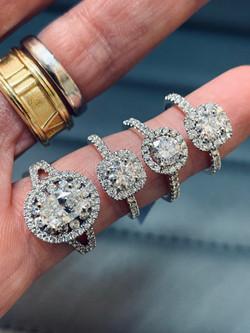 SFJ Diamond Solitaires