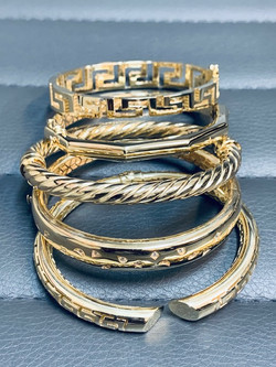 Italian Bangles and Cuffs