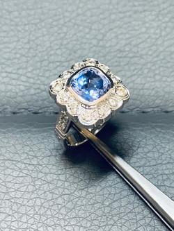 SFJ Diamond and Tanzanite Design