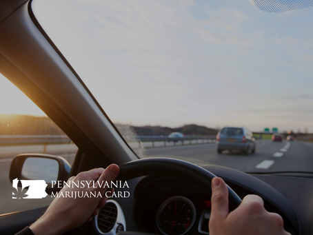 Pennsylvania To End Zero-Tolerance Driving For Medical Marijuana Patients