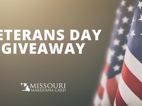 Free Medical Marijuana Evaluation Giveaway for Veterans