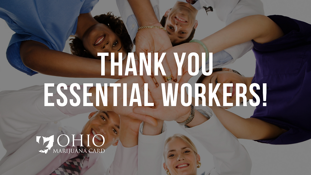 Thank you essential workers ohio
