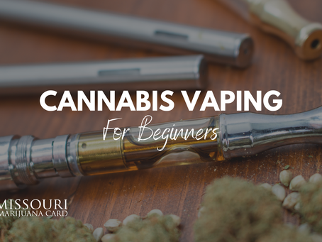 Cannabis Vaping: A Guide For New Patients