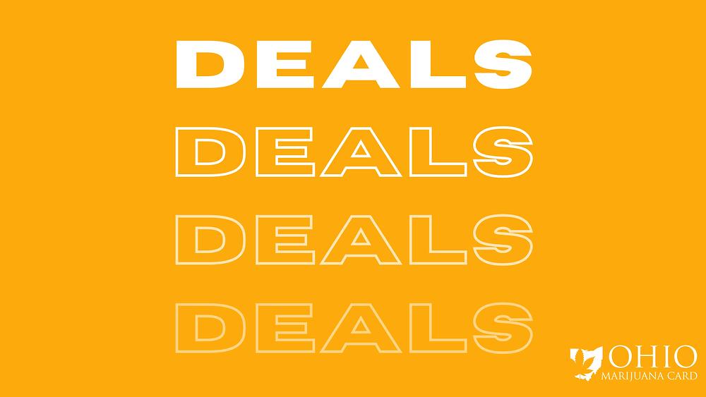 April Ohio dispensary deals