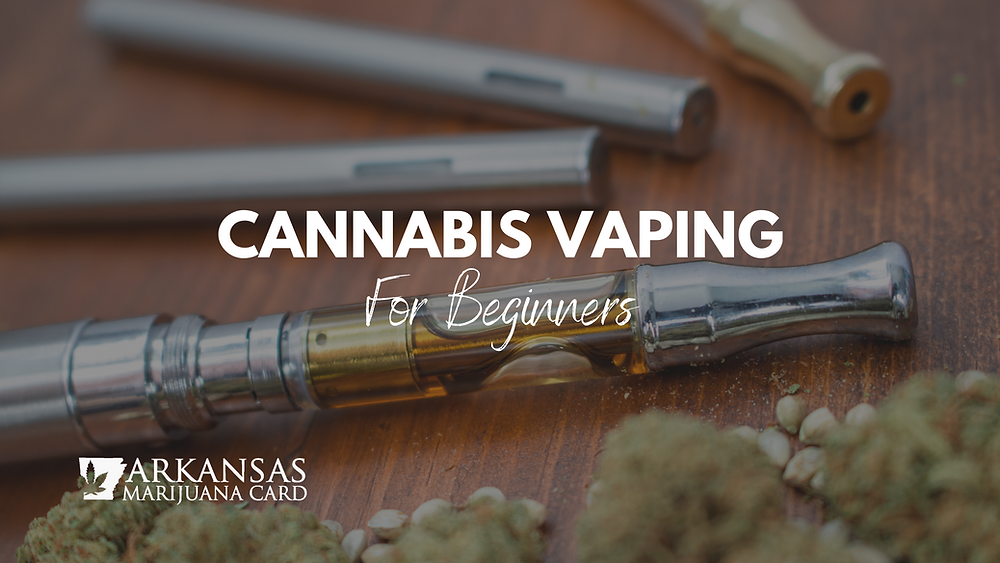 Cannabis vaping for beginners