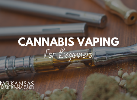 Cannabis Vaping Guide for Beginners