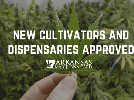 New Arkansas Medical Marijuana Cultivation and Dispensary Licenses Awarded