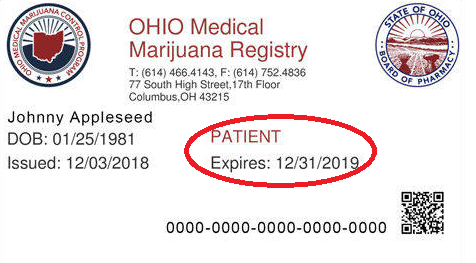 Ohio Medical Marijuana Registry