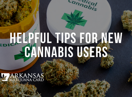 Helpful Tips For New Cannabis Users