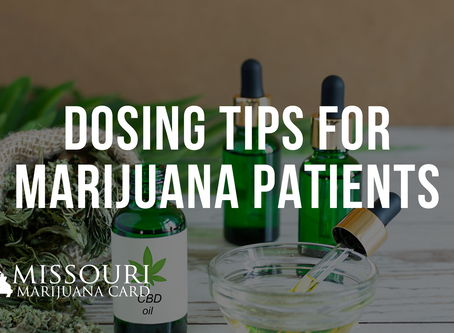 Dosing Tips For New Cannabis Users