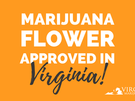 Virginia Lawmakers Approve The Sale of Cannabis Flower