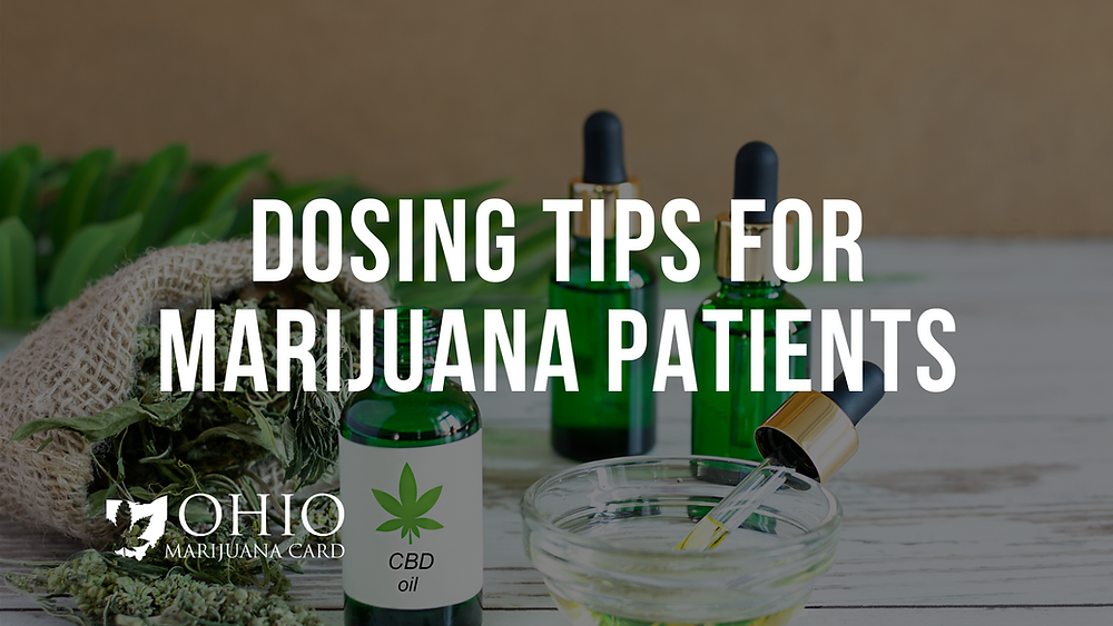 proper dosing medical marijuana